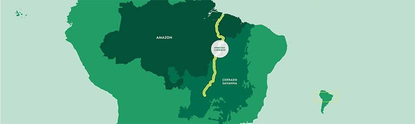 araguaia biodiversiteits corridor